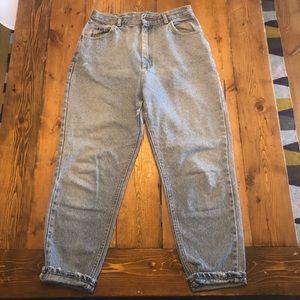 Distressed Vintage Lee Mom Jeans